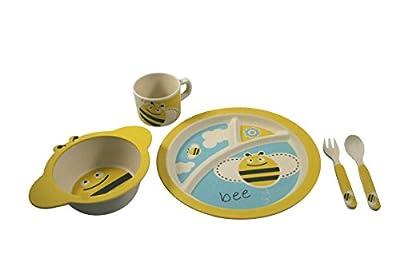 EcoBamboo Ware Kids Bamboo Dinnerware Set