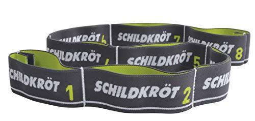 Schildkröt Fitness Elastic Band Härtegrad 15 kg im Blister, grün/Grau, M