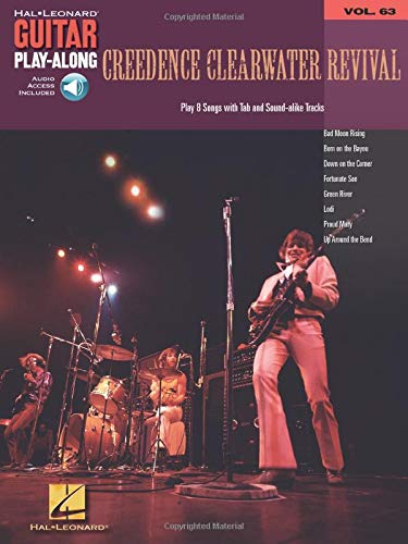 Guitar Play-Along Vol.063 Creedence Clearwater Revival + Cd
