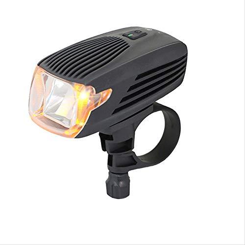 hhxiao LED Bike Lights Led Bike Licht Oplaadbare Fiets Koplamp Automatisch Licht Systeem Geel Daglicht Gemakkelijk te installeren