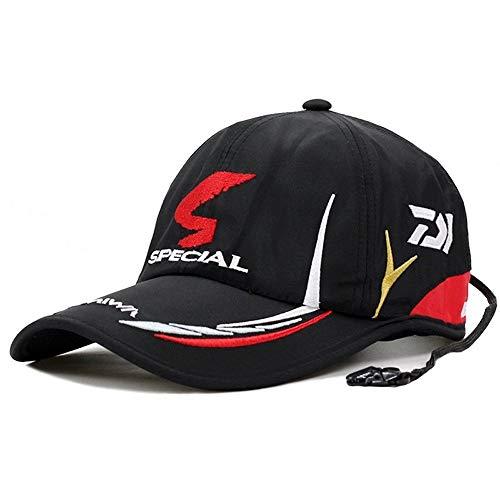 COCNI Nueva gorra de plato Chapeau moderna cortocircuito 100% del casquillo adulto Sombrero hombres de pesca ajustable del casquillo del sombrero de la sombrilla Daiwa deportivos de calle al por mayor