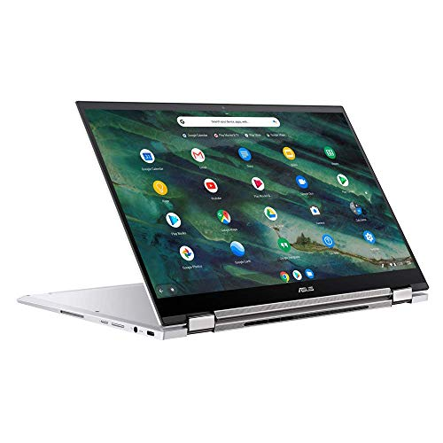 ASUS Chromebook Flip C436FA 35,5 cm (14 Zoll, Full HD, IPS-Level, NanoEdge, Touch) Convertible Notebook (Intel Core i5-10210U, Intel UHD-Graphics, 16GB RAM, 512GB SSD, Chrome OS) Aerogel White