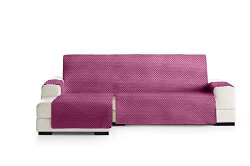 Eysa Oslo Funda, Poliéster, C/2 Fucsia-Gris, Chaise Longue Extra 290cm. Válido para sofá Desde 300 a 350cm