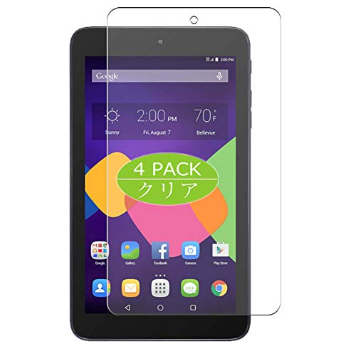 "VacFun 4 Piezas Claro Protector de Pantalla, compatible con Alcatel Pixi7 Tablet 7"" Pixi, Screen Protector Película Protectora(Not Cristal Templado) NEW Version"