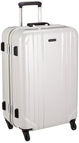 [ワールドトラベラー] スーツケース サグレス 66L ストッパー付 TSAロック 62 cm 4.7kg ホワイトカーボン