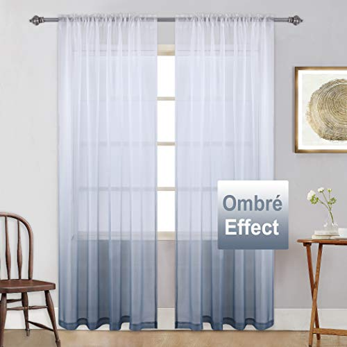 Keqiaosuocai Grey Ombre Curtains Light G Buy Online In China At Desertcart