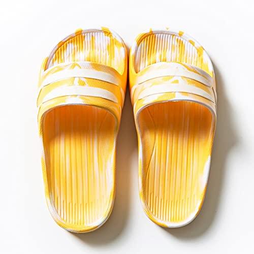 YXCKG Chanclas De Casa para Niños, Zapatillas Ligeras con Punta Abierta, Zapatillas De Moda para Caminar, Zapatos De Suela Blanda para Interiores, Sandalias con Diapositivas Silenciosas