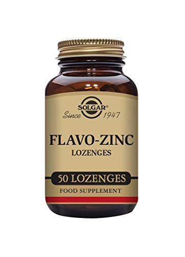 Solgar Flavo-Zinc Lozenges - 50 lozenges