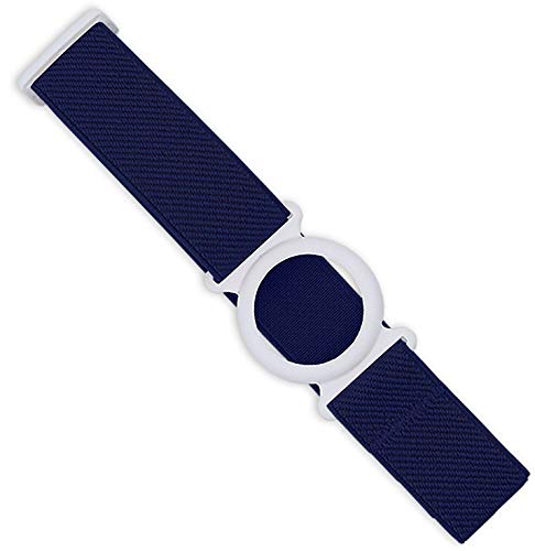Freestyle Libre Fixierband – Ring: Weiß (Flexibel/Sensitiv)   Diasticker® (Large: 35-45 cm, Marine)