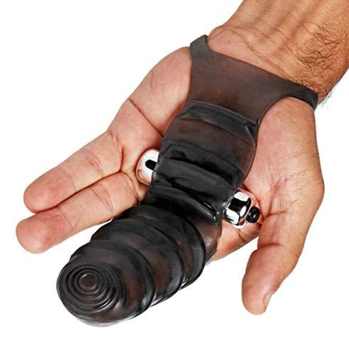 Master Series Guante con dedos en Punto G de Bang Bang - 120 gr