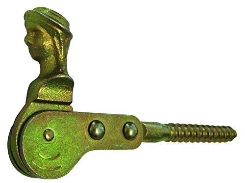 HSI Ventana contraventanas de hierro, galvanizado, 115mm, 1pieza, 217670.0