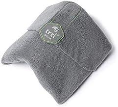 trtl Pillow - Scientifically Proven Super Soft Neck Support Travel Pillow - Machine Washable (Grey)