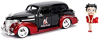 Betty Boop & 1939 Chevy Master Deluxe- 1:24 Die-Cast Vehicle With2.75-Inch Die-Cast Figure