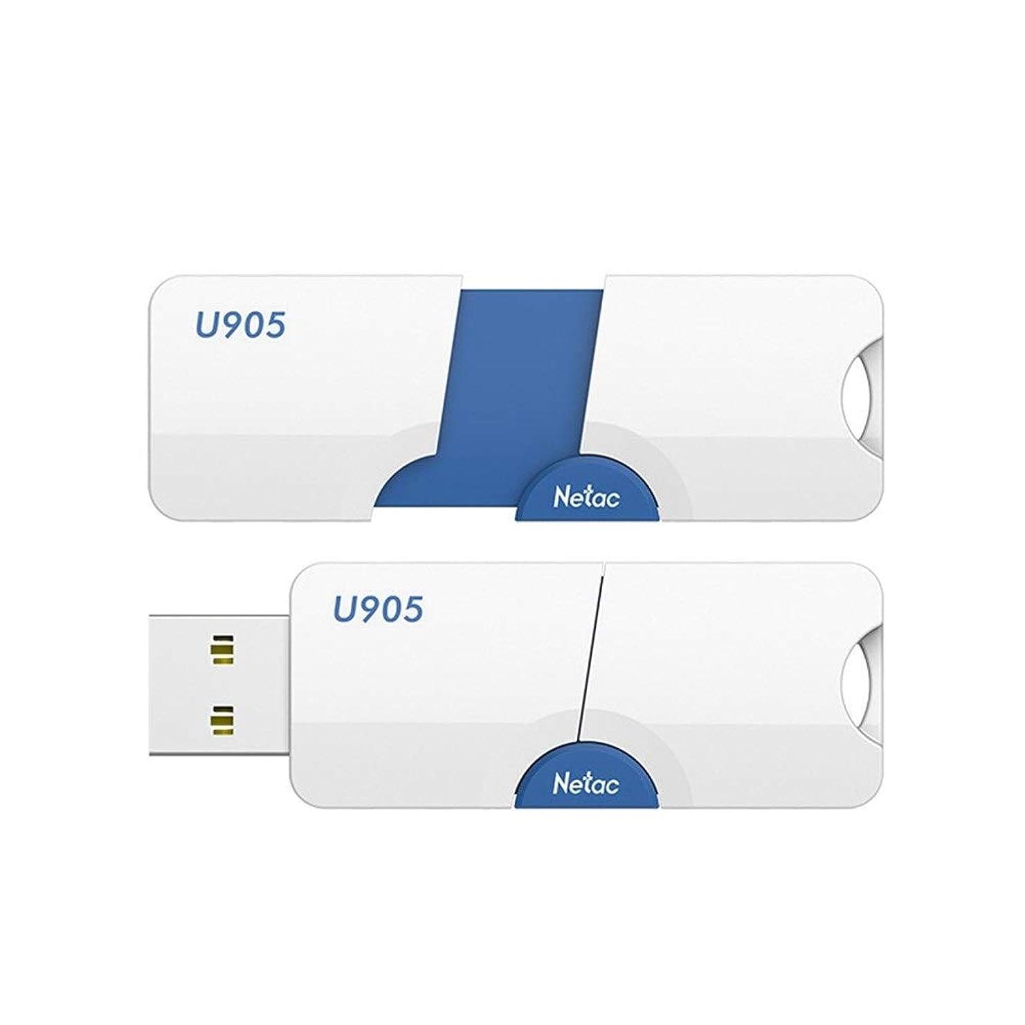 ピクニックをする器具優雅な64ギガバイトのUSB 2.0フラッシュドライブ、高速親指ドライブキャップレス格納式USBメモリスティック耐衝撃ジャンプドライブコンパクトサイズ (Capacity : 64GB)