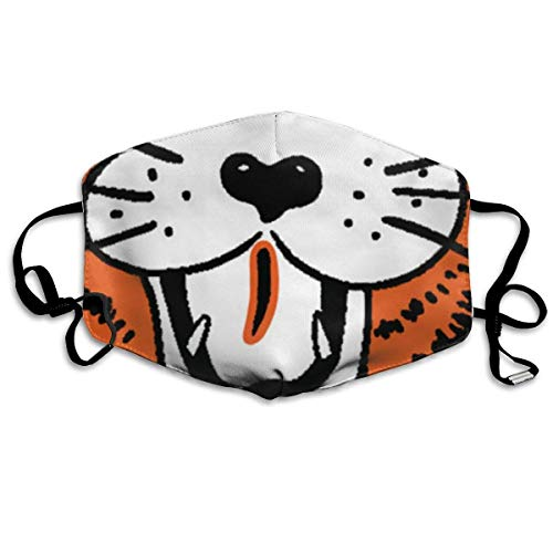 Mundschutz Gesichtsschutz Unisex Reusable Nose Face Cover with Obie Mouth Cover Face Cover with Adjustable Earloops