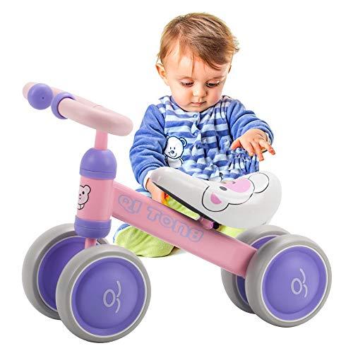 LBLA Baby Balance Bike, Fahrt mit dem Roller, Fahrrad für Kinder Reiten Toy Balance Baby Walker Bike für Baby Kid Kleinkind Indoor Outdoor Aktivitäten 6-36 Monate
