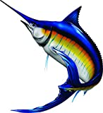 Stripped Marlin Beautiful Fish Decal for Your Boat, Vehicle, Etc. Many Sizes and Styles Available 12' to 40' (Medium, Position 4)