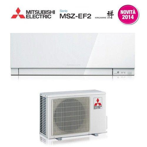 Mitsubishi MSB293035-MSB293001 Monosplit in Pompa di Calore con Split a Parete Zen, Bianco