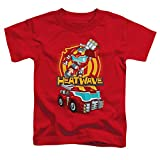 Transformers Heatwave Unisex Toddler T Shirt for Boys and Girls, Large (4T) Red