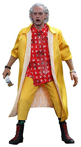 Hot Toys HT902790 Dr Emmett Brown - BTTF II