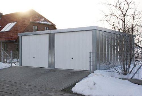 Doppelgarage 5,23 x 5,27 x 2,18 m Geräteraum Lager