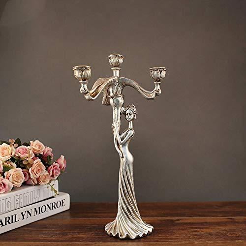 BDwantan Mobiliario para el hogar/Regalos prácticos de boda/Artesanía Portavelas Enfriador de Vino/Decoración del hogar