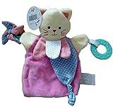 Doudou et Cie - Doudou Doudou et Compagnie Chat magic marionnette rose spirale activitee dentition DC3005-7837