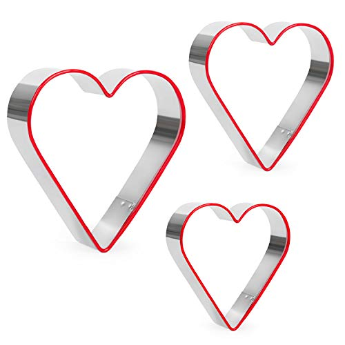 Herz Ausstecher - 3 Stück Valentinstag...
