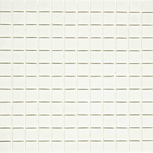 e-ceramica 8436028842049 Mosaico Cristal Blanco