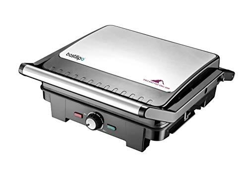 Bastilipo - Vulcano Fast Grill 2200 - Doble Grill eléctrico - Sandwichera...