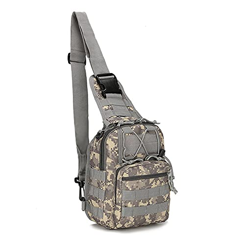 JJBKT Al aire libre doble hombro militar bolsa deportes montañismo mochila doble hombro táctico senderismo camping mochila, Hombre, 3076431214, delete, 20 (largo)