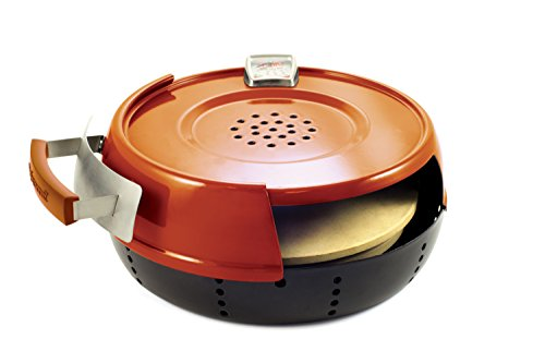 Pizzacraft Pizzeria Pronto Indoor Stove Pizza Oven, Red, 37x43x17 cm
