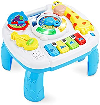 Baccow Musical Educational Learning Activity Table Center