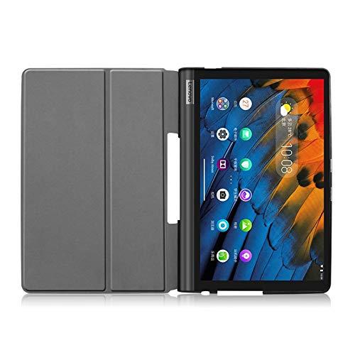 Lobwerk Hülle für Lenovo Yoga Smart Tab YT-X705F 10.1 Zoll Smart Cover Etui mit Standfunktion und Auto Sleep/Wake Funktion