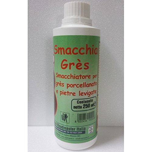 SMACCHIA GRES 250 ML CHEMICAL ROADMASTER SMACCHIATORE PER GRES PORCELLANATO E PIETRE LEVIGATE