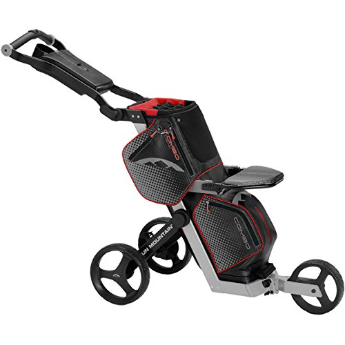 Sun Mountain Combo Golf Cart Black/Silver/Red Black/Silver/Red