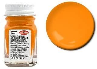 Testors Enamel Paint 1/4 ounce Gloss Turn Signal Amber