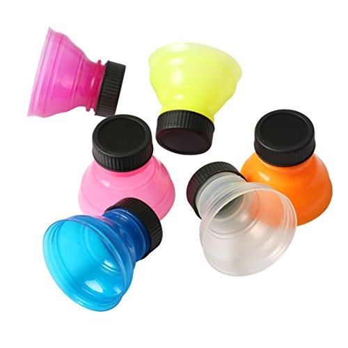 2Esse SET 3 PEZZI TAPPO LATTINA A SCATTO COLORI ASSORTITI - Tappo per lattine, in plastica, 6,5 x 18,5 x 13 cm, colore: multicolore