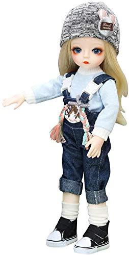 YYSDH 1/6 SD Muñecas Simulation Doll 2020, De 12 Pulgadas De 18 De Articulación Esférica De La Muñeca Bricolage Juega Con El Sistema Completo de Ropa Zapatos Para Las Muchachas BJD,A
