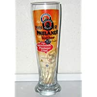 Paulaner - Vaso de Cerveza Blanca con Mensajes de Voz