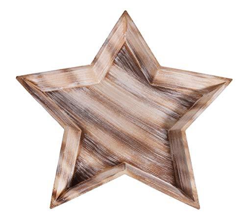 Rayher 46281000 MDF Sternschale, Durchmesser 42 cm