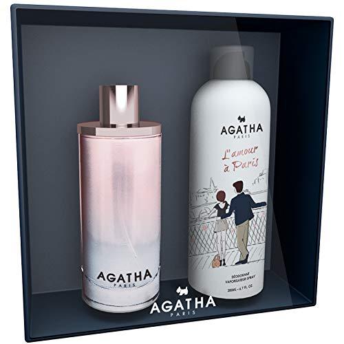 Agatha de joy Division el amor a Paris Eau de Toilette 100ml + Desodorante Spray (aroma de 200ml
