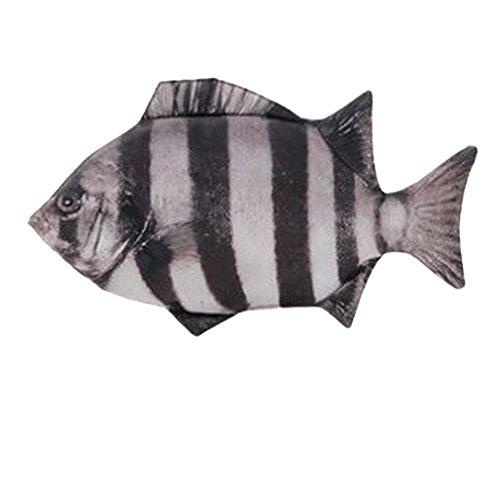 Haodou Funny Carp - Estuche para lápices, diseño de peces, con cremallera, color type-3 28.5 * 16cm