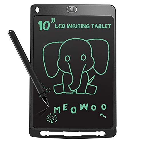 Meowoo Tavoletta Grafica Lcd 10 Pollici, Lavagna Elettronica Bambini, Lavagna Grafica Tablet da Scrittura Giochi Regalo Bambina 5/10 Anni
