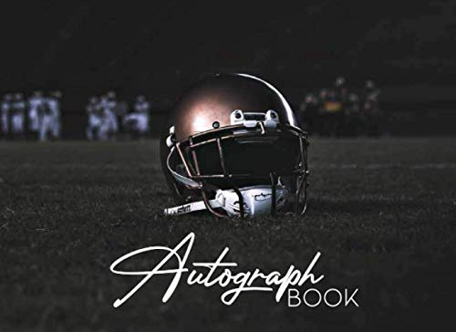 Compare Textbook Prices for Autograph Football: Autograph Collecting Book for Celebrities, Baseball and Football Fans, Birthday, Graduation, Retirement Blank Signature Book for Collectors Adults and Kids  ISBN 9798559599649 by Publishing, Lovely Memories