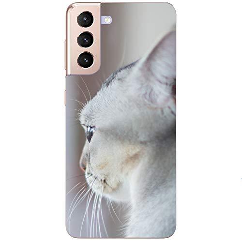 Funda blanda para teléfono móvil con diseño de gato para Samsung Apple Huawei Honor Nokia One Plus Oppo ZTE Xiaomi Google, tamaño: Samsung Xcover 3
