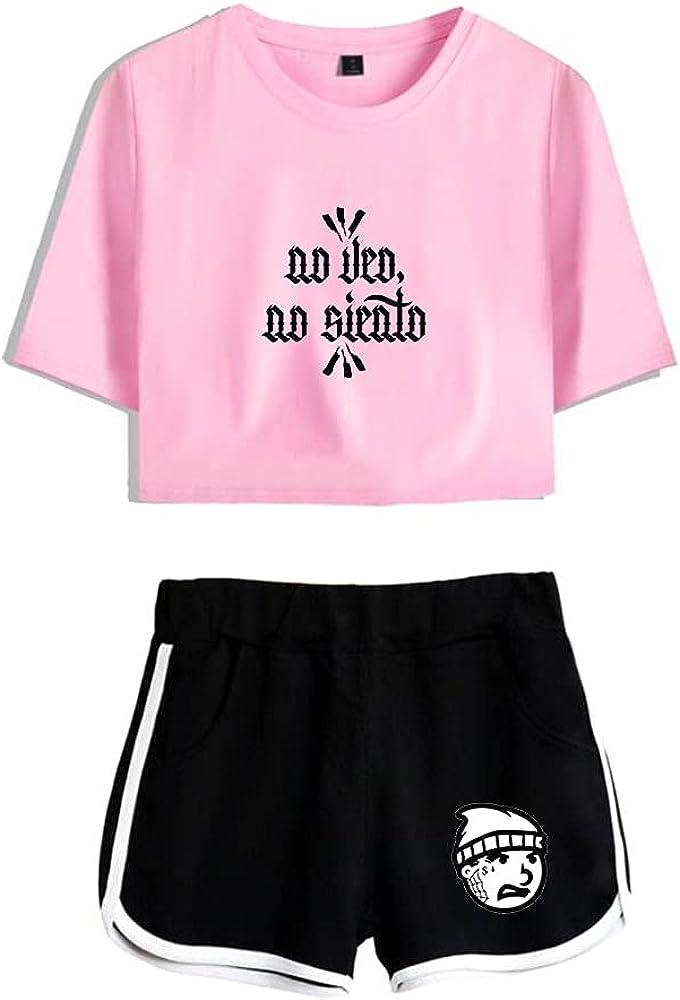 Tydres Gera MX 2 Piece Sets Hip Hop Short Sleeve Suit Womens Girl Set Casual Accessories Fashion Suit (PB-YM00722,S)