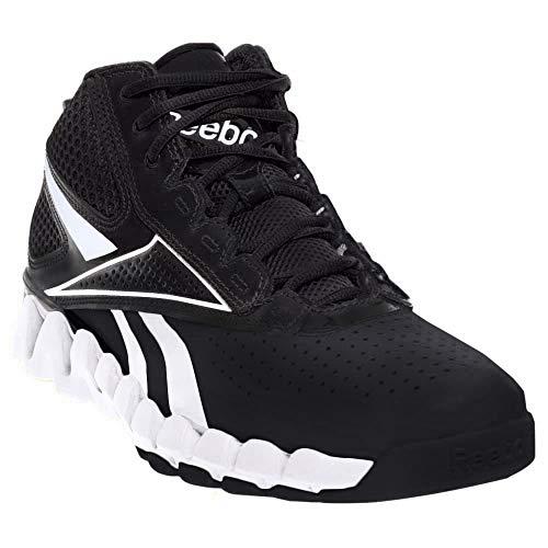Reebok Zig Pro Future Damen Schwarz Rund Basketball Schuhe Größe Neu EU 38,5