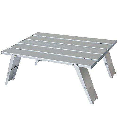 Yellowstone Alu Mini Tisch Beistelltisch Falttisch 2 Höhen 40 x 30 x 10,5 cm