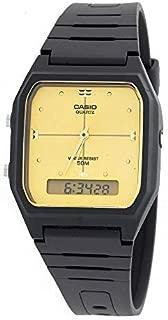 Casio Quartz Resin Sport Watch, Black (Eaw-Aw-48He-9Av), Analog-Digital Display
